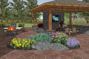 Landscape Design   Evergreen, CO Landscape Design
