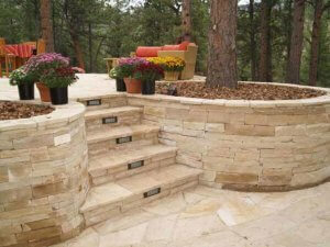Retaining Walls Evergreen Landscape Design